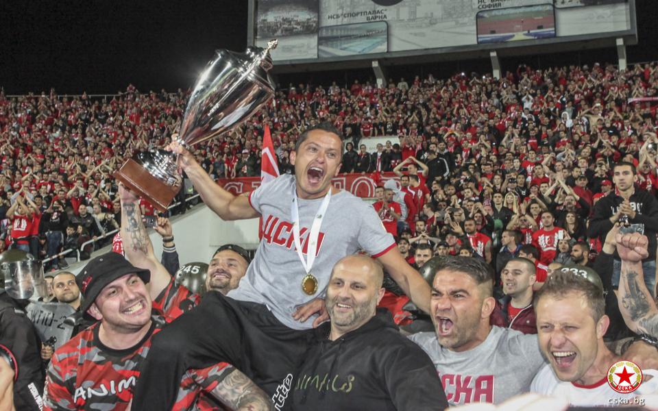 ЦСКА честити рождените дни на Ицо Янев и Кубрат Пулев