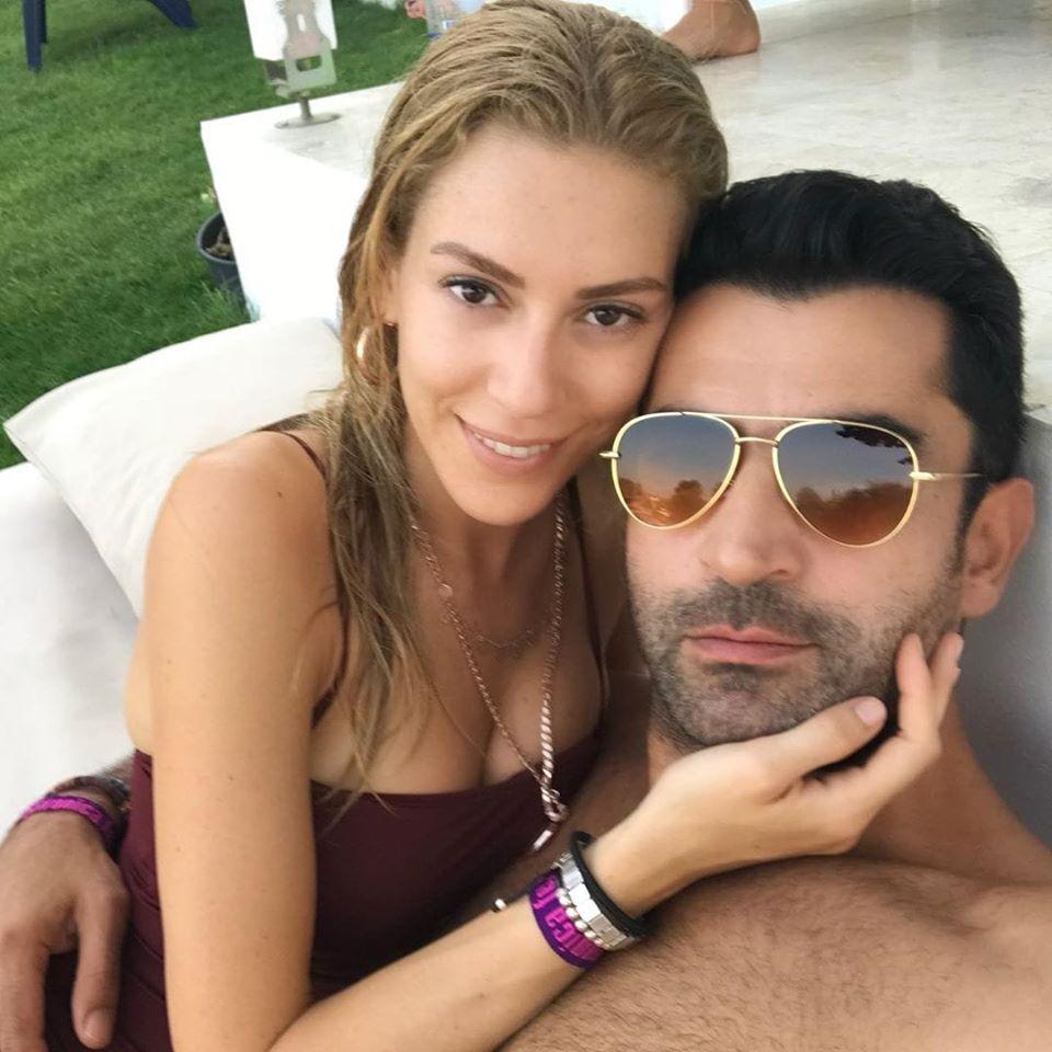 Синем Кобал и съпругът и Кенан Имирзалъолу.💜🍀💜🍀