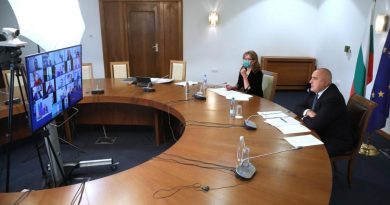 Премиерът Борисов: Кризата се задълбочава заради COVID-19, трябва бързо да одобрим бюджета на ЕС