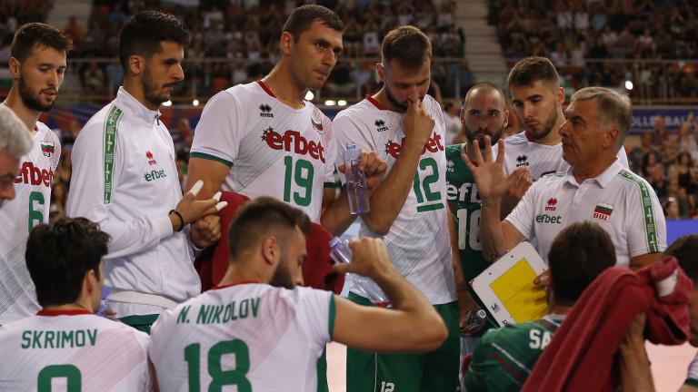 Националите по волейбол ще играят четири контроли