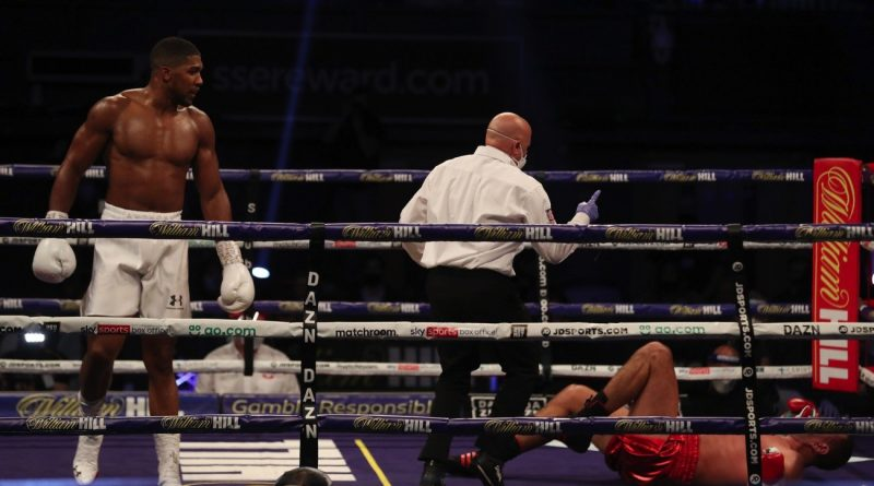 Boxing Results: Anthony Joshua Stops Kubrat Pulev In 9th Round