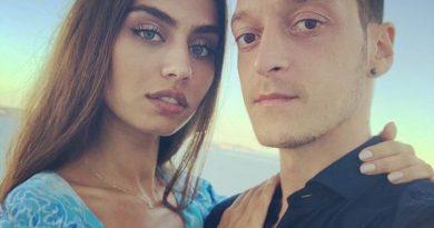 Амине Гюлше и Месут Йозил отново в Турция